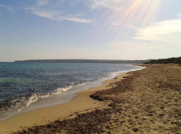 Playas de Migjorn: Es Ca Marí
