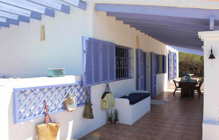 Casa playa migjorn formentera in alquiler casas y - Alojamiento en formentera con encanto ...